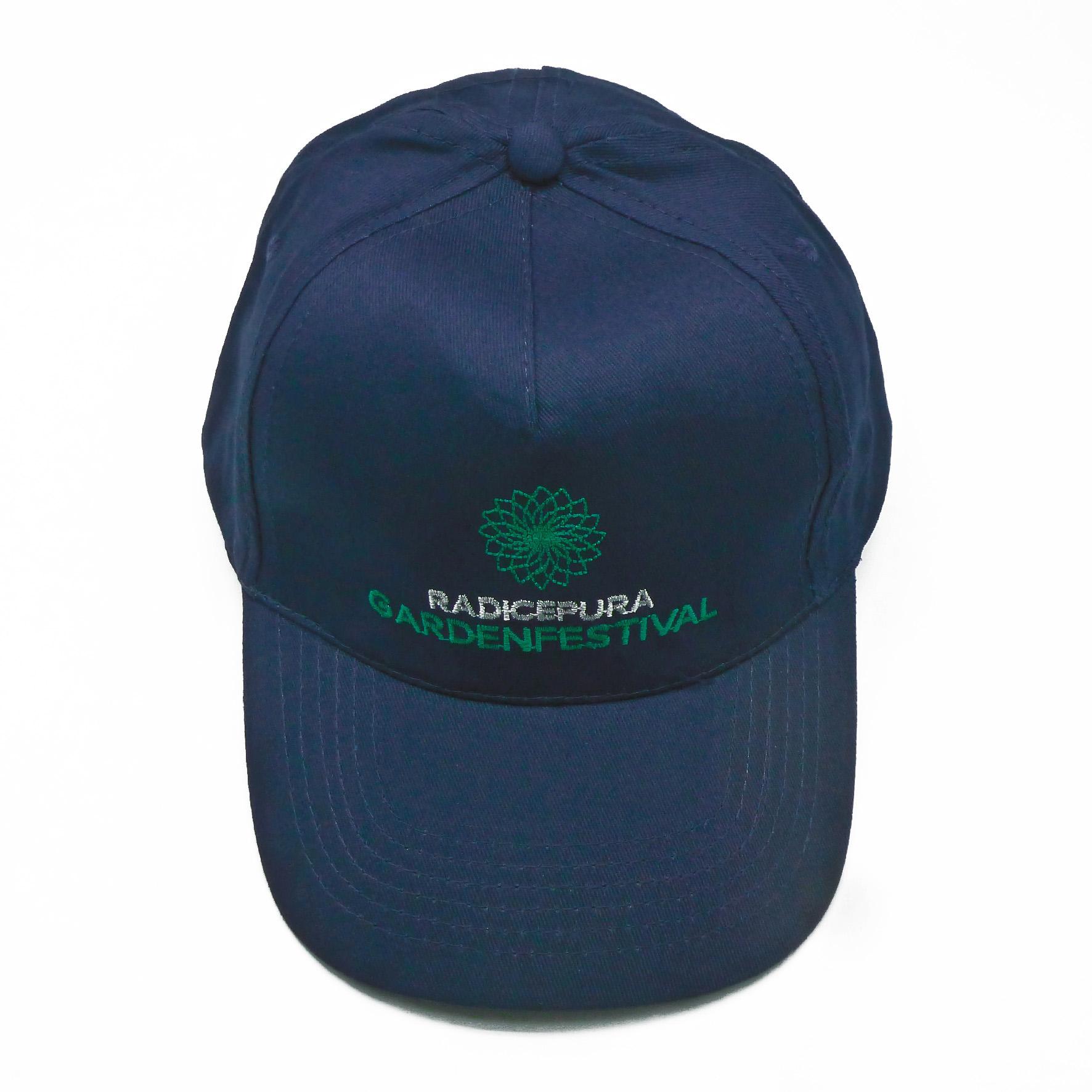 berretti personalizzati per il Garden festival