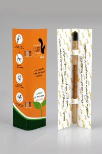 Matita Sprout con packaging dedicato