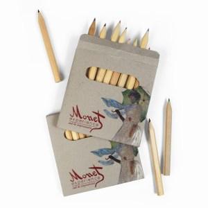 Set matite con stampa digitale a getto inchiostro per Monet Experience