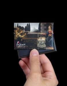 """Magnete """"L'Annunciazione"""" per Da Vinci Experience"""