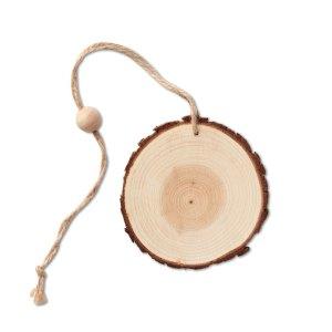 Boccia di natale originale in legn