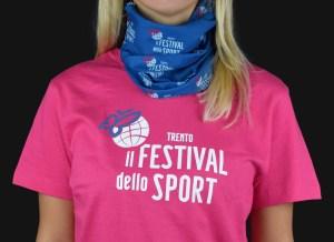 T-shirt personalizzate Festival dello sport 2018