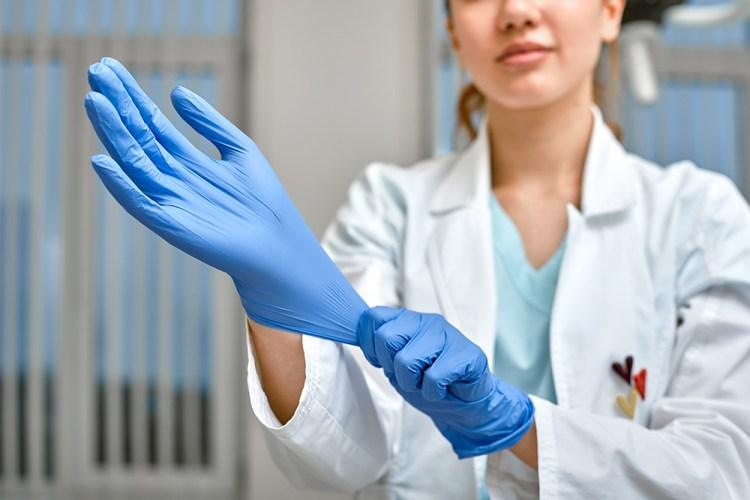 guantes uso quirurgico