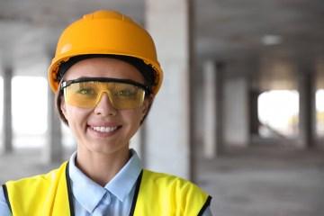 Tipos de lentes de seguridad industrial.