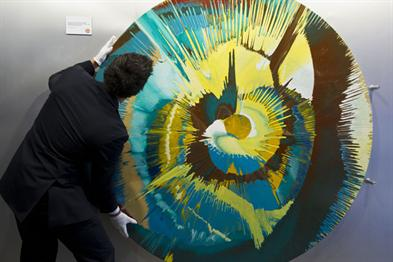 Damien Hirst, Flame Grilled