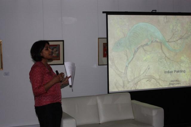 Dr Malini Roy at Saffronart, London