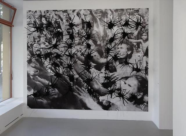 Ah (a Sigh), Anita Dube, 2008