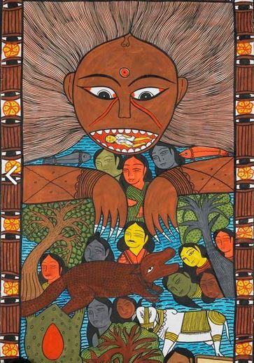 Mantu Chitrakar (detail)