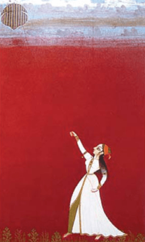 Lady Flying a Kite, Bikaner or Jodhpur, 1730-1750; Image Credit, http://www.chinadaily.com.cn/cndy/2013-06/14/content_16618619.htm