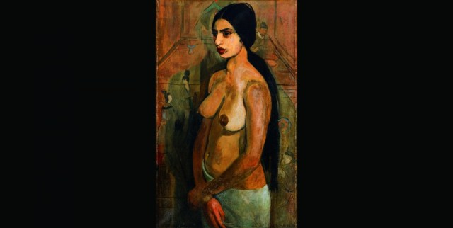 Self Portrait as Tahitian, Amrita Sher-Gil, 1934. Collection of N. and V. Sundaram