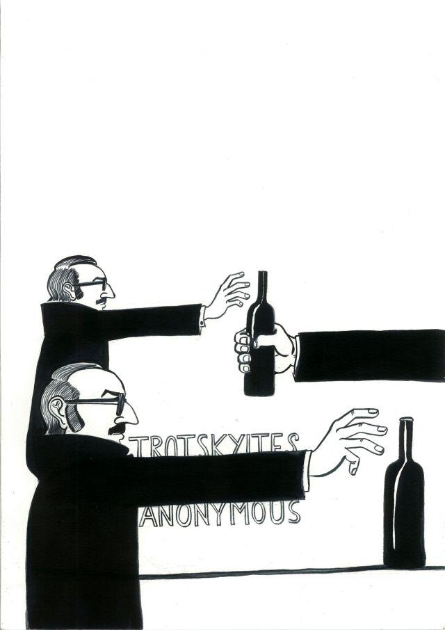 Trotskyites Anonymous, 2013, Sarnath Banerjee. Image Credit: http://friezelondon.com/exhibitors/exhibit/5393/3942