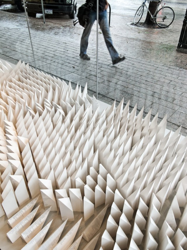 Seher Shah, Detail of Object Repetition (Line to Distance), 2013