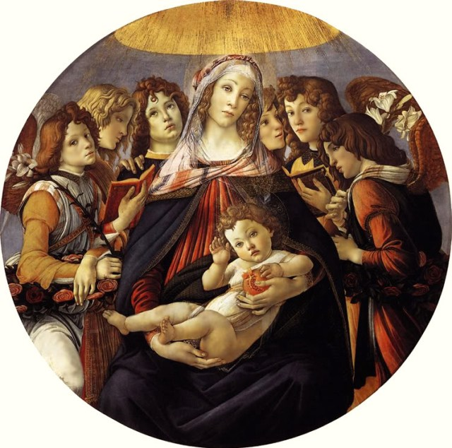 Madonna of the Pomegranate, 1487, Sandro Botticelli. Image Credit: http://www.arilsystem.com/the-pomegranate-throughout-history