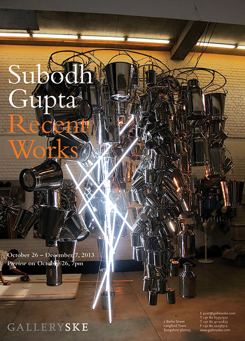 Subodh Gupta, Recent Works @ Galleryske