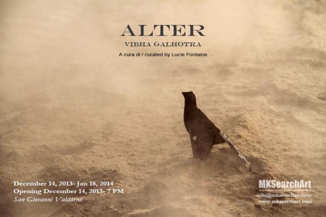 Vibha Galhotra, Alter @ Mk Search Art, San Giovanni Valdarno