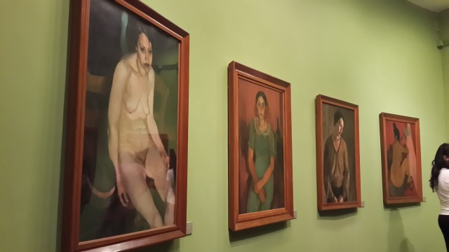 Left: Nude Professional, 1933