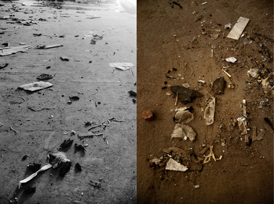 "Gauri Gill, ""Hall of Technology - Diptych 1"", Archival Pigment Print, 9"" X 12"", 2010 Credits: Vadehra Art Gallery"