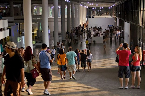 Image of the pavilion taken at the 30th Edition of the São Paulo Biennale (2012) Credit: Artinfo