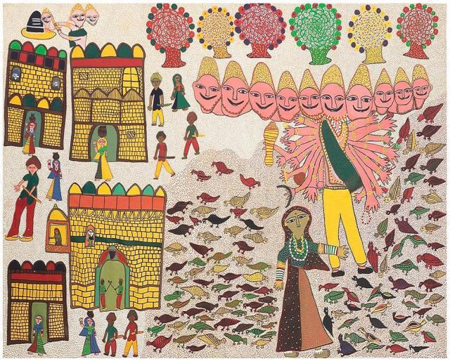 Lot 83, Teju Ben, Jogi Art https://www.storyltd.com/auction/item.aspx?eid=3741&lotno=83