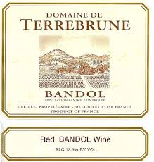 bandol rouge wine