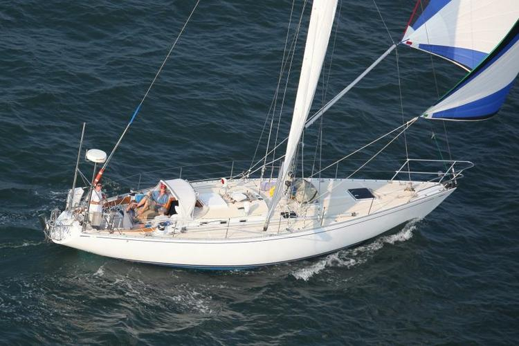 sailing sloop in NY