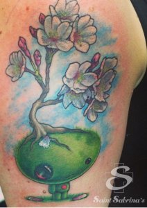 Tattoo by Saint Sabrina's artist, Mike Grant