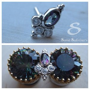 Sarai body jewelry from Body Vision Los Angeles