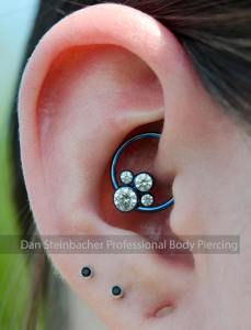 daith piercing by Dan Steinbacher