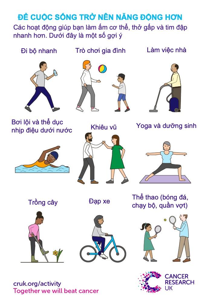 Năng vận động giúp cuộc sống tích cực hơn