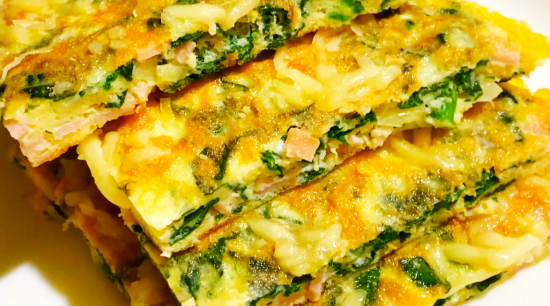 Spinach & Cheese Omelette Recipe : Breakfast Recipes