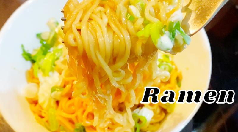 Oyster Sauce Mayo Ramen Noodles Recipe