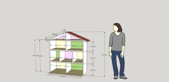 Initial Plan via Sketchup