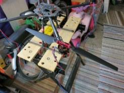 Tarot1555 props - 4108 sunnysky motors - Tarot 650 frame