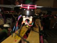 Wires through Tarot 650 frame tubes