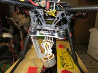 Mounting cheap GLB gimbal on my Tarot 650 frame -2