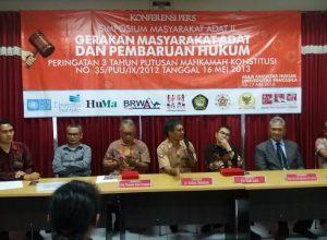 Tiga Tahun Putusan MK 35 dan Hak-Hak Masyarakat Adat Indonesia