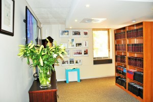 Entrance to SAMSA's Resource Centre named after former executive manager, Ms Sindiswa C. Nhlumayo in honour and recognition of her contribution to both the organisation and the country's maritime economic sector development, at an event held at the SAMSA offices in Pretoria