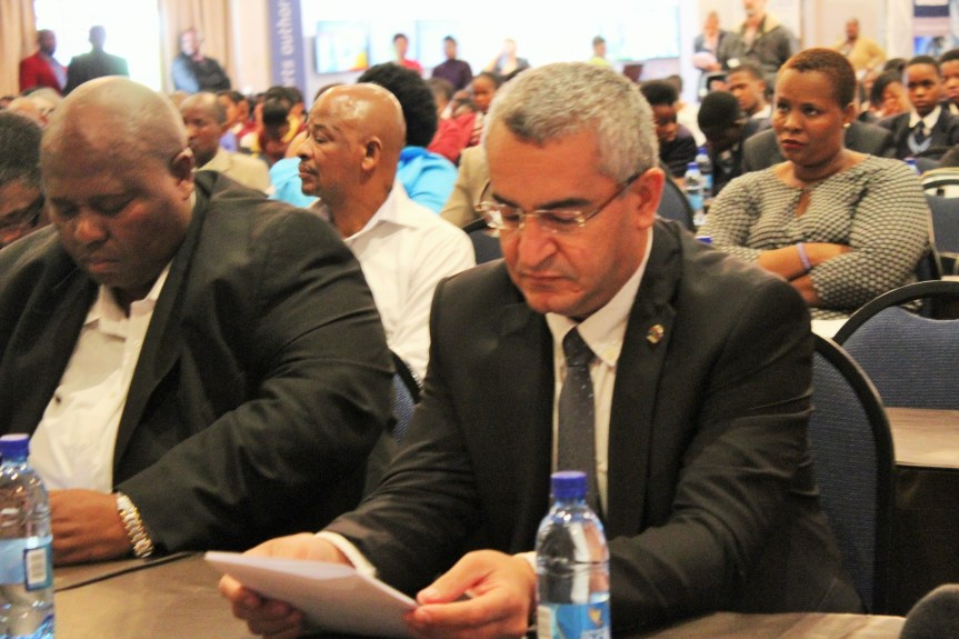 FOCUSED: Arzebaijan Ambassador to South Africa, Dr Eikhan Polukhov among senior officials attending the World Maritime Day 2016 at the Gariep Dam in the Free State