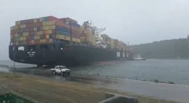 durban port storm