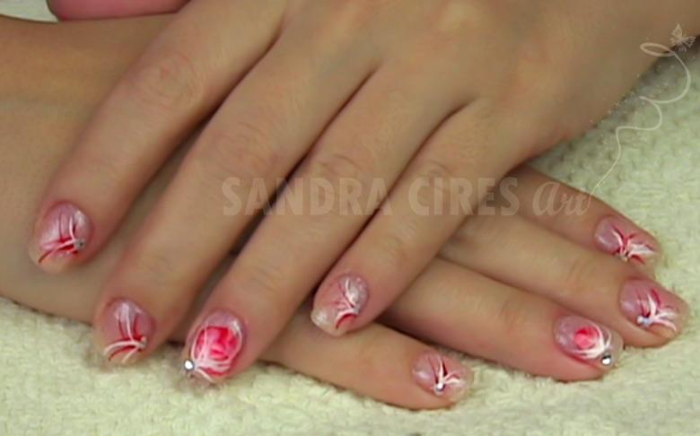 Manicure Ricostruzione Unghie In Gel E Nail Art Con Micropittura