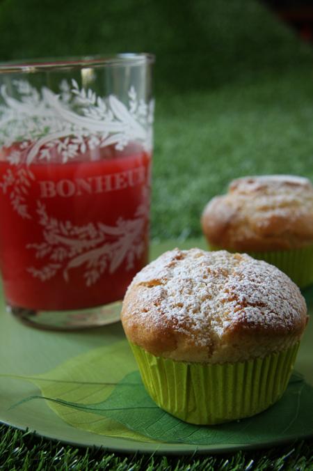 © muffin al farro e mandorle