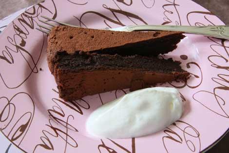 torta al cioccolato e anacardi | ©foto Sandra Longinotti