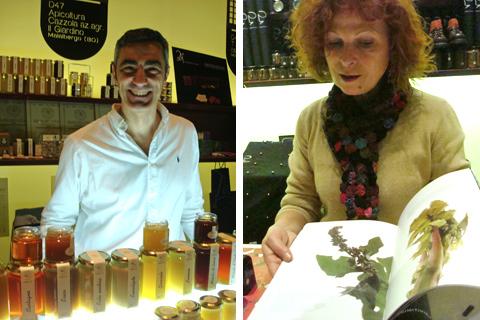 © Taste 2010 - Fabrizio Cazzola di Apicultura Cazzola, Eleonora Cunaccia di Primitivizia