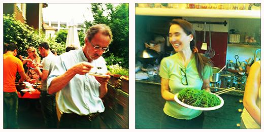 © mumble mumble... Marco si chiede cosa sia quel nuovo sapore... :D secret! ma no... è un'alga! #spritzathome