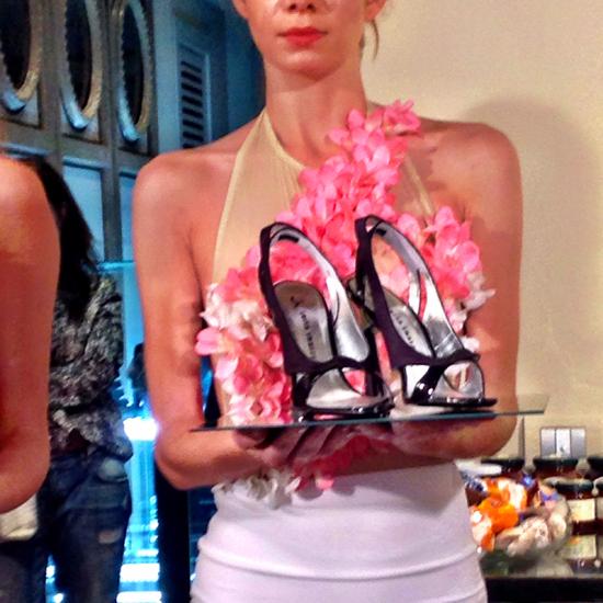 scarpe Night Rose della Collezione Luisa Tratzi P/E 2015 | ©Sandra Longinotti