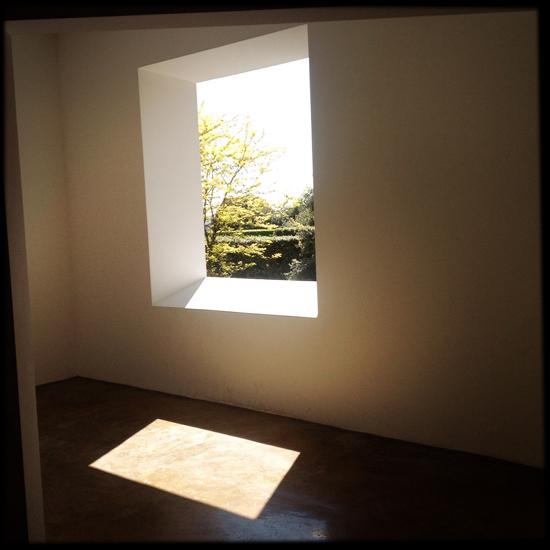 """Varese Window Room"" (1973) di Robert Irwin - Mostra AISTHESIS | ©foto Sandra Longinotti"