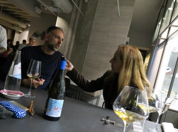 Filippo di Bartola mi spiega la filosofia del suo nuovo ristorante FILIPPO Pietrasanta | ©foto Strutturafine