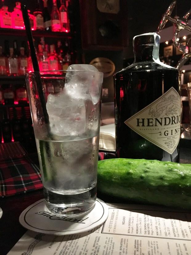 1 Cetriolo x 1 Gin Tonic: il Cucumber Currency Exchange di Hendrick's Gin inizia il 14 maggio | ©foto Sandra Longinotti