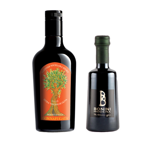 Olio e Aceto: Donnafugata + Bonini Modena