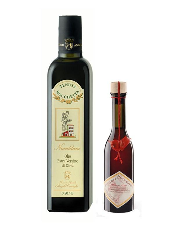 Olio e Aceto: Tenuta Rocchetta + Cesare Giaccone